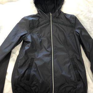 Black Ivivva rain jacket
